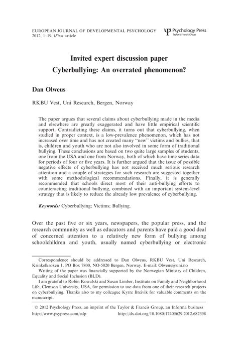 research paper about cyber bullying research paper on cyber bullying