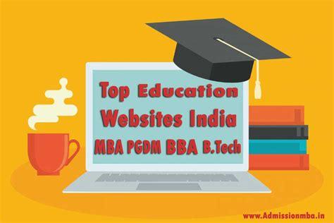 Mba Websites India top education websites india best educational websites in