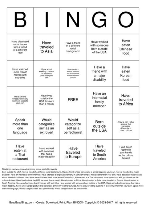 diversity bingo template diversity bingo cards to print and customize