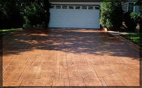 Concrete Vs Pavers Patio Sted Concrete Vs Pavers Driveway Decorative Concrete Driveways