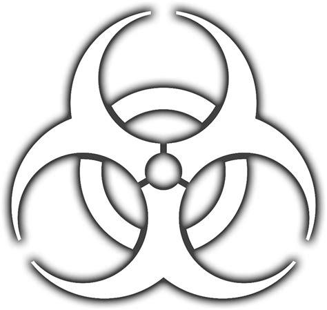 Danger White by Quot Bio Hazard Biohazard Danger Hazard Symbol Biological