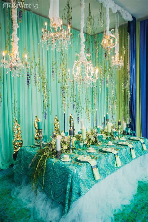 the sea mermaid inspired wedding theme elegantwedding ca