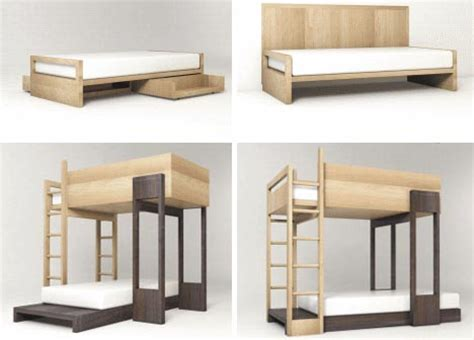 Modern Design Bunk Beds Simple Modular Wooden Bunk Beds To Stack Or Stagger