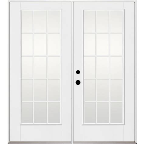 Benchmark Patio Doors by Shop Benchmark By Therma Tru 70 5625 In X 79 5 In Grilles