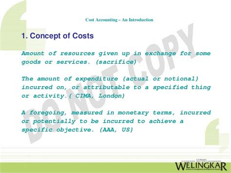 Untroduction To Cost Accounting an introduction to cost accounting