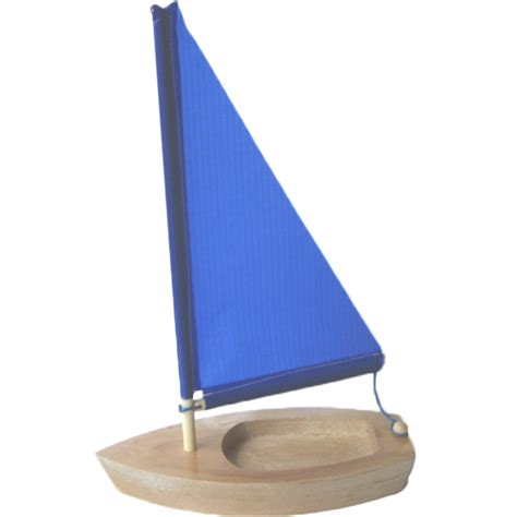 handmade wooden sailboat 6 5 quot