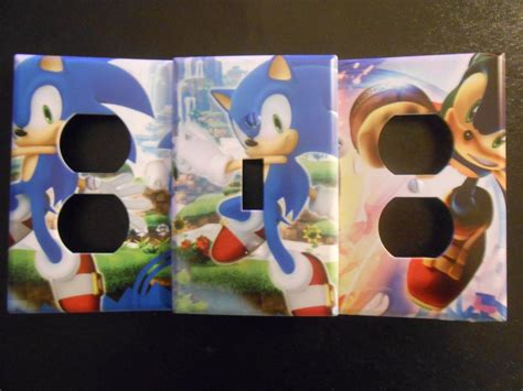 sonic decorative light switch wall plate by manickatie2 on