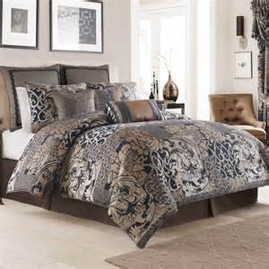 croscill ryland blue comforter set bedding collections