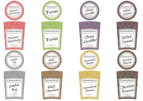 Modern Upmarket Shop Packaging Design For Caramel Salt By Jamie Fynn Design 7082225 Pint Label Template