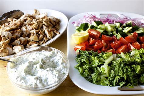 chicken gyro salad smitten kitchen
