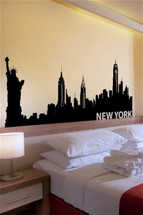 new york bedroom decor wall decals new york walltat com