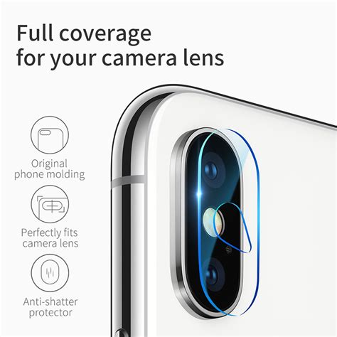 len glas מוצר baseus 0 15mm tempered glass lens protector for