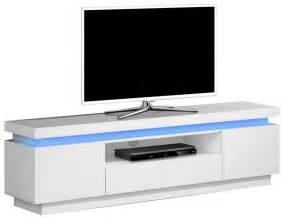 meuble banc tv avec 233 clairage led pas cher comforium