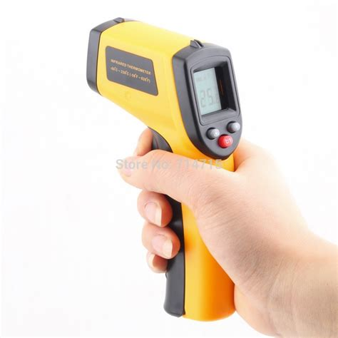 New Laser Infrared Meter 0 05 50 M Pro Limited Edition Wat Murah laser lcd digital ir infrared thermometer gun coolthingshere