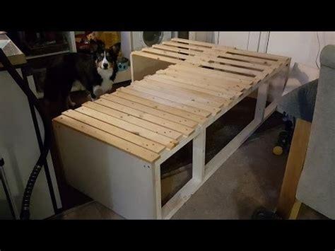 camper van conversion diy bed  carpenters daughter