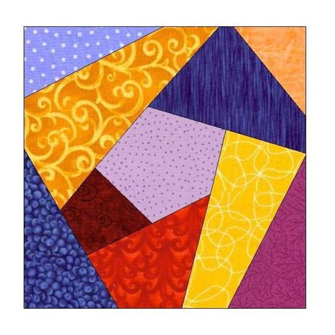Paper Piecing Quilt Pattern by Quilt Paper Piecing Pattern 077a By All Stitches