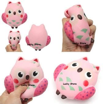 Squishy Owl Jumbo Pink daftar harga squishy pink owl squishy burung hantu pink