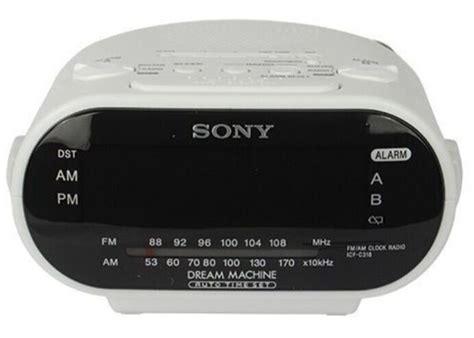 sony alarm clock radio dvr motion detection 1 3 quot cmos 1080p hd ebay