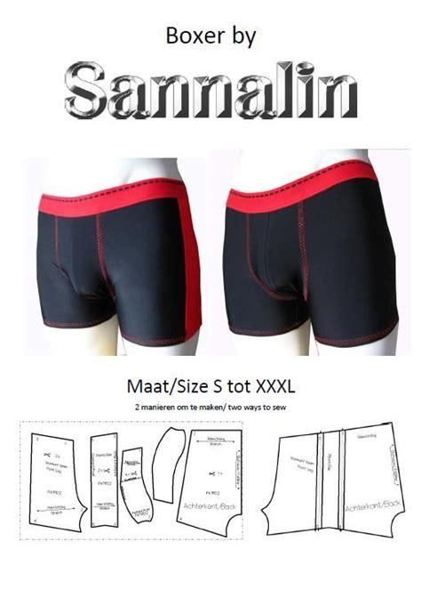 pattern making men s underwear patroon mannen boxer pattern men boxer patr02 latex