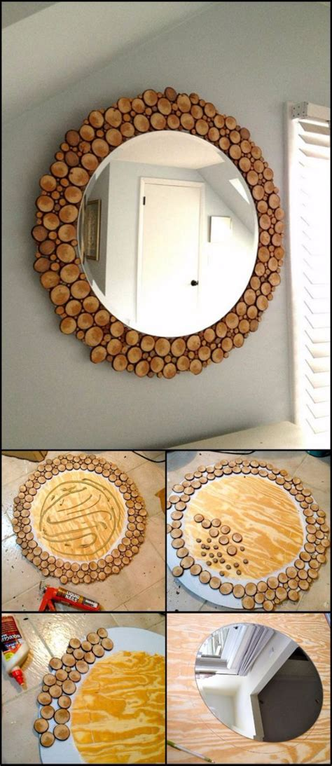 diy wood home decor 41 diy mirrors you need in your home right now diy joy