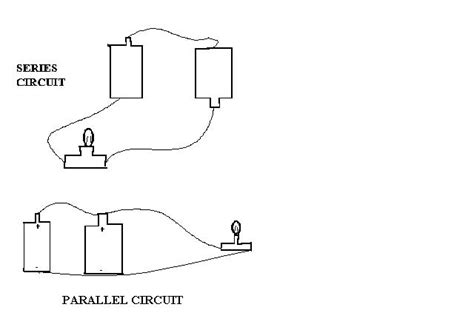 how to distinguish between resistors in series and parallel david s electricity page