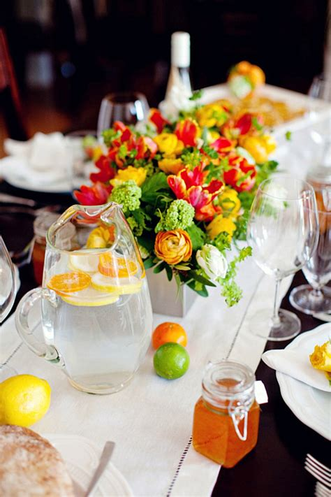 dinner theme dinner table setting ideas