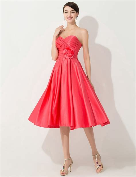 colored bridesmaid dresses sweetheart coral colored bridesmaid dresses cheap tea