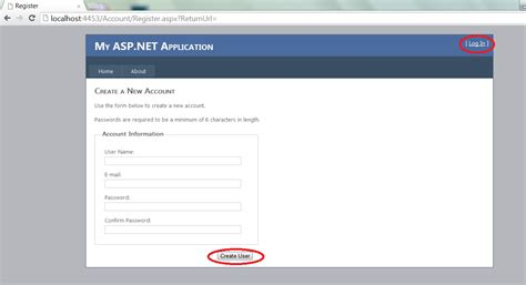 asp net login page template simple forms authentication exle using asp net