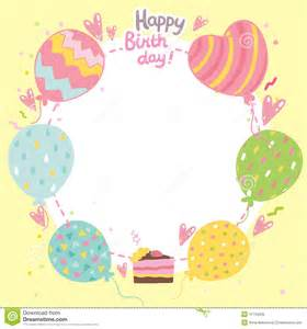 happy birthday template birthday card template cyberuse