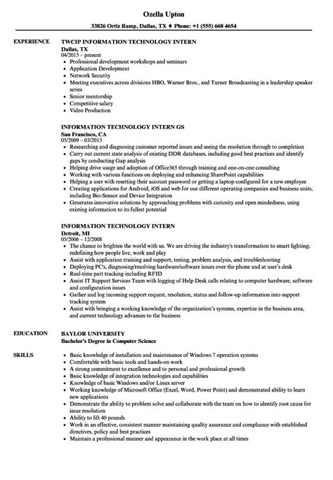 interesting information technology resume examples 4 help resume