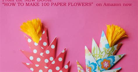 How To Make Handmade Flowers From Paper And Fabric - easy paper flowers for diy flowers handmade