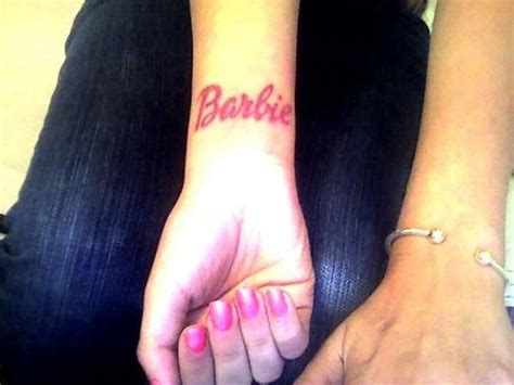 barbie tattoos designs best 25 ideas on