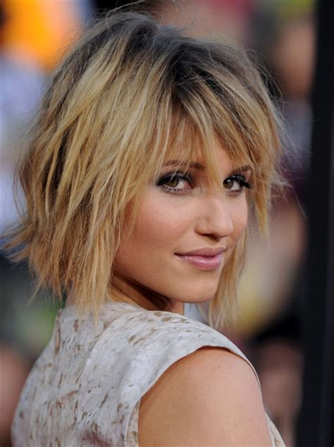 Dianna Agron Hairstyles dianna agron in a funky hairstyles look