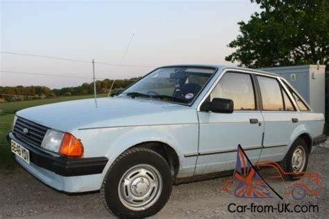 how to fix cars 1985 ford escort spare parts catalogs ford escort mk3 1985 1 3 gl repair project with lots of extra spares