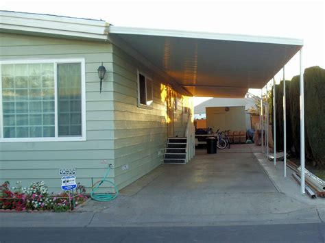 mobiles carport mobile home patio covers superior awning