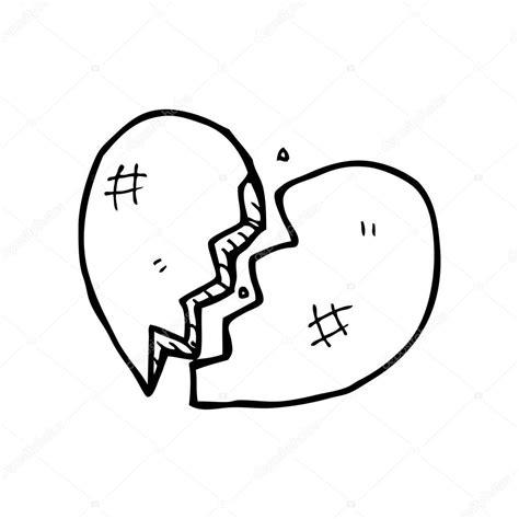 Imagenes De Corazones Rotos Para Colorear | un corazon roto para colorear imagui
