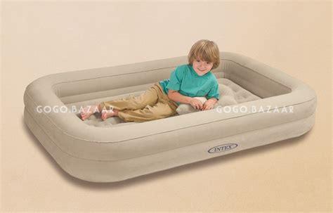 Intex Toddler Air Mattress by Intex Toddler Air Bed Travel Cot Sleep Caravan Baby