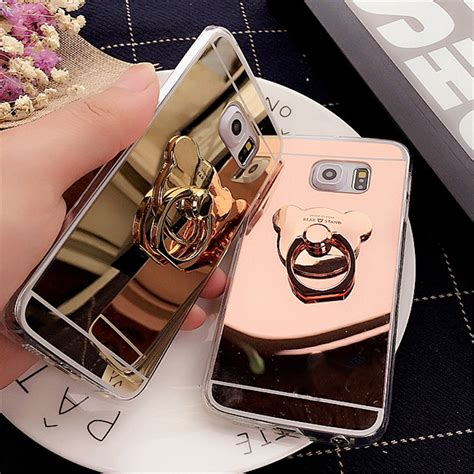 Casing Samsung Note 5 Terbaru Plus I Ring buy mirror clear tpu ring phone cases cover for for samsung galaxy s5 s6 s6