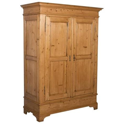 antique pine armoire antique pine two door armoire from denmark circa 1880 at