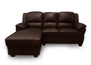 Leather Sofa With Chaise Leather Sofa With Left Chaise Brown Images