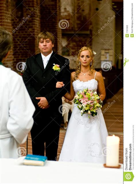 Wedding Ceremony For Couples by At Wedding Ceremony Stock Photos Image 7161663