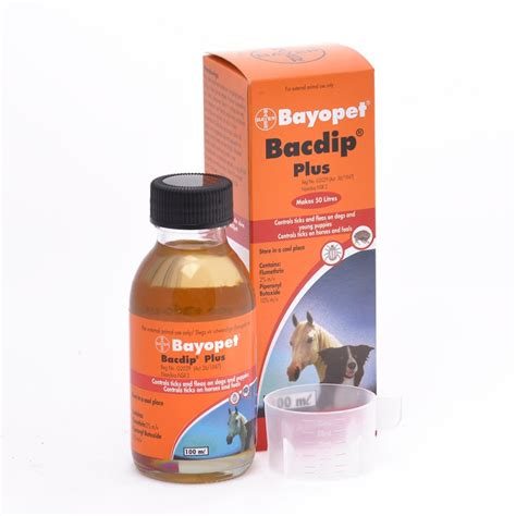 flea dip for dogs buy bayopet bacdip plus tick flea dip for dogs epetstore co za