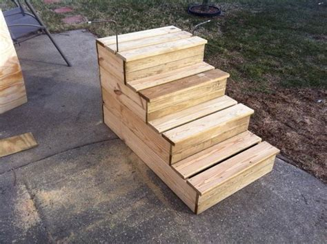 Build Wooden Build Wood Steps woodworking project ideas free woodworking plans