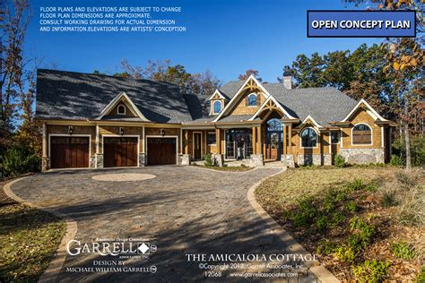 cabin house plans amicalola cottage house plan 12068 house plans by