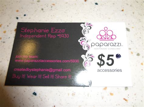 Paparazzi Jewelry Business Cards Related Keywords Paparazzi Jewelry Business Cards Long Tail Paparazzi Business Card Template