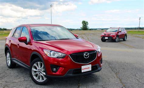 Toyota Mazda 2013 Toyota Rav4 Vs 2014 Mazda Cx 5 Car Reviews