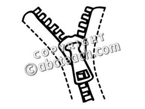 coloring book zip sharebeast clip basic words zipper b w unlabeled abcteach