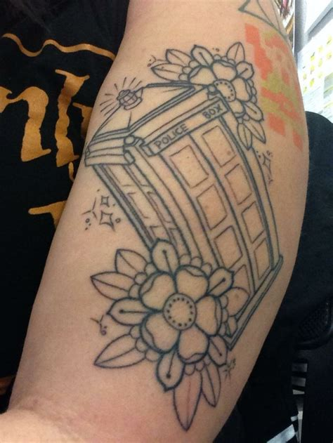 tardis tattoo tardis outline dr who tardis