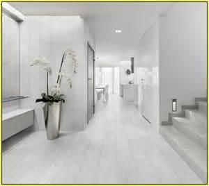 White italian porcelain tile home design ideas