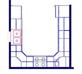 U Shaped Kitchen Designs Layouts U Shaped Kitchen Floor Plan Layout Kitchen Design Ideas